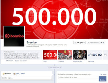 Brembo Facebook